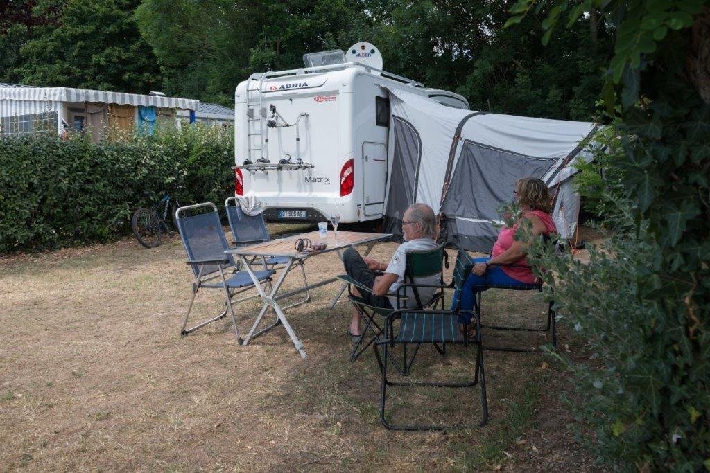 camping 5* les Chouans - campeurs