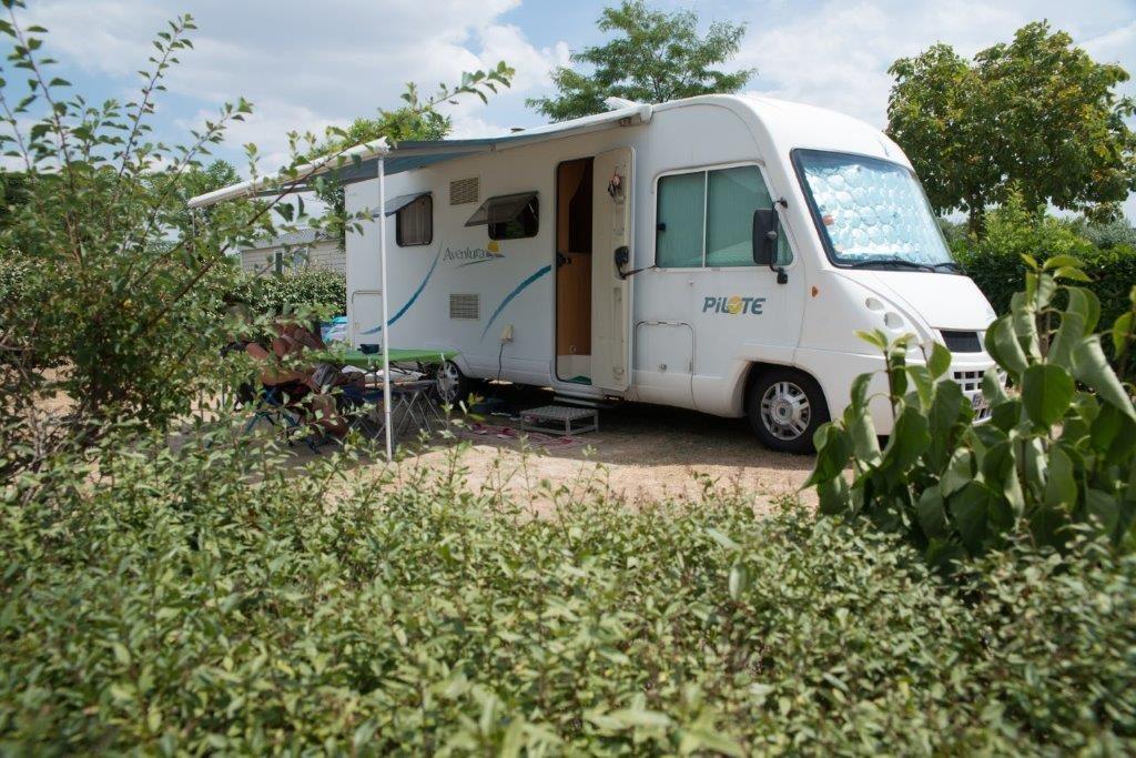 camping 5* les Chouans - camping car