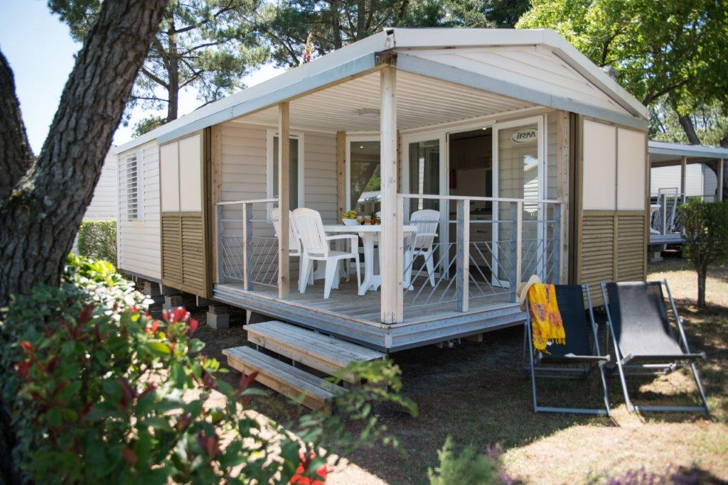 mobilhome Dune camping 5* les Chouans