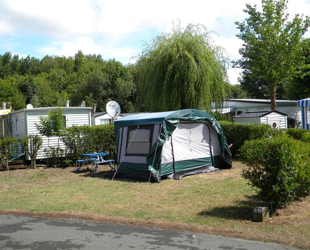 camping 5* les Chouans - emplacements 1