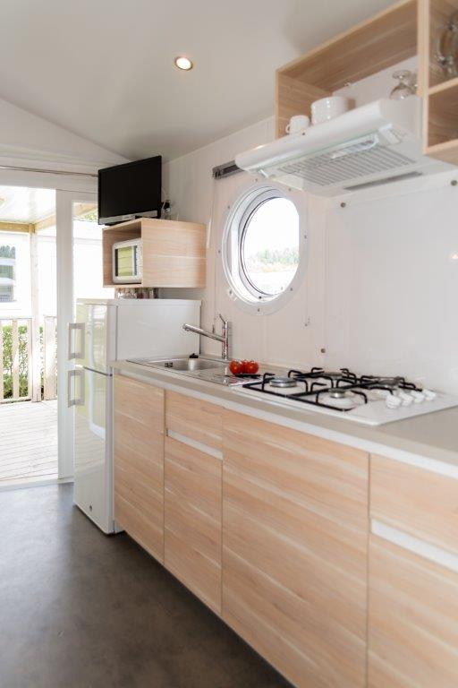 mobilhome st Barth camping 5* les Chouans 8